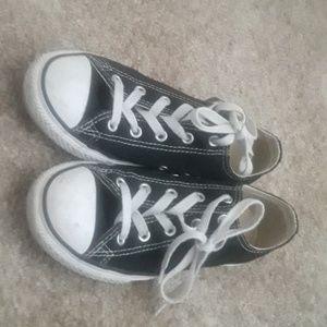 Classic Black and white Converse